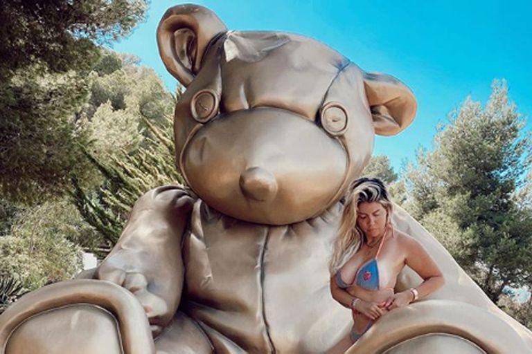 Wanda Nara y su clásico veraneo en familia en Ibiza