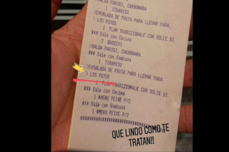 Escándalo: el indignante ticket homofóbico dirigido a una pareja gay en Córdoba