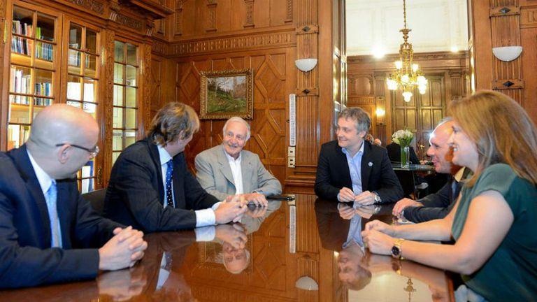 Fox y Turner estuvieron primero en Casa de Gobierno