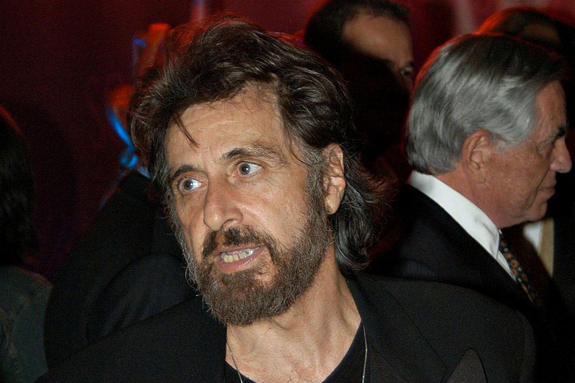 """Pacino en la celebración de los 20 años del estreno del film """"Scarface"""""""
