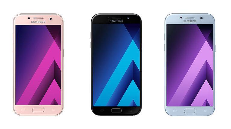 Samsung confirmó el lanzamiento en CES de la actualización de su línea de smartphones de gama media Galaxy A7, A5 y A3
