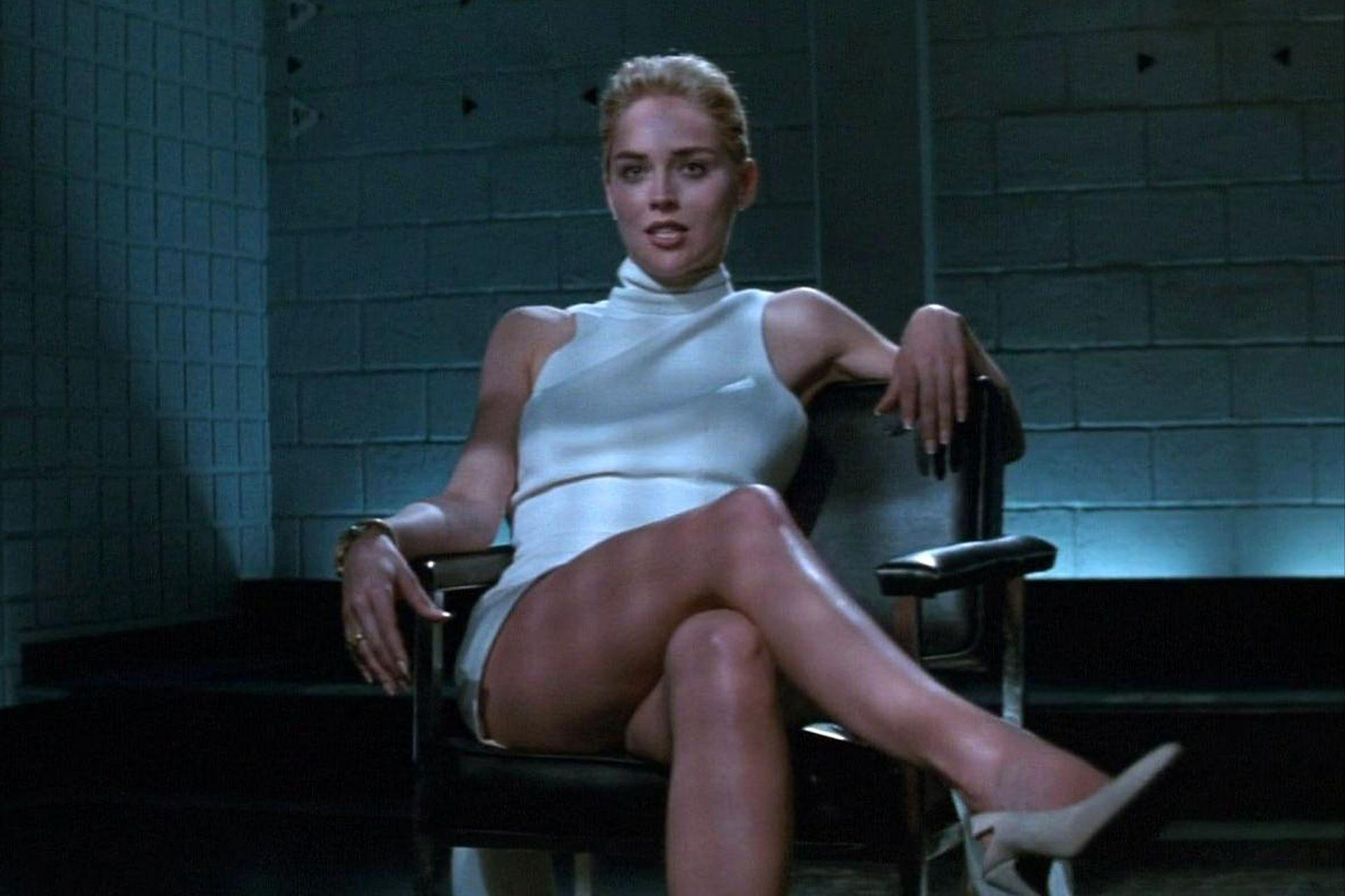 Sharon Stone y la escena que no estaba pautada