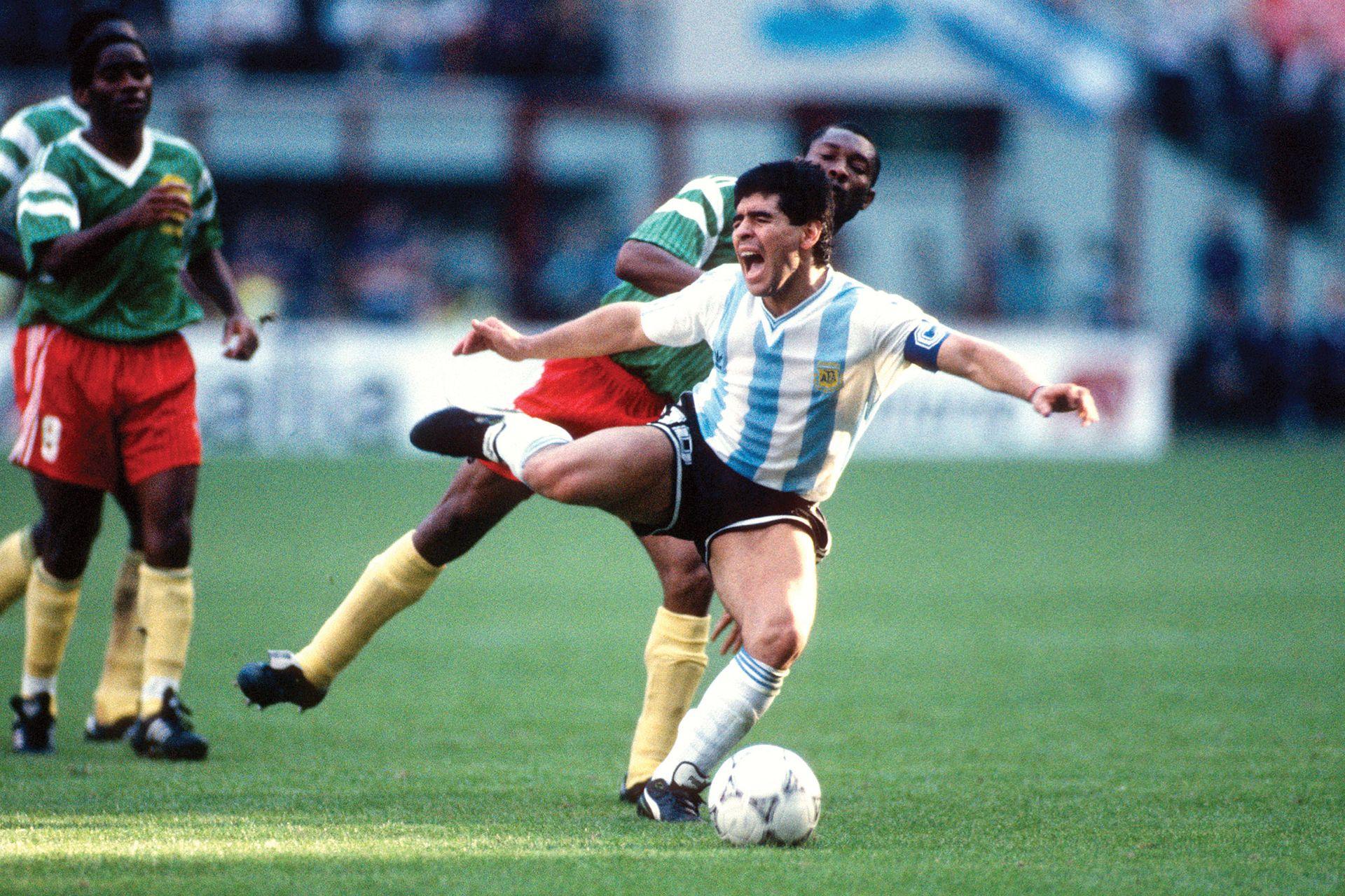 Argentina vs Camerún.
