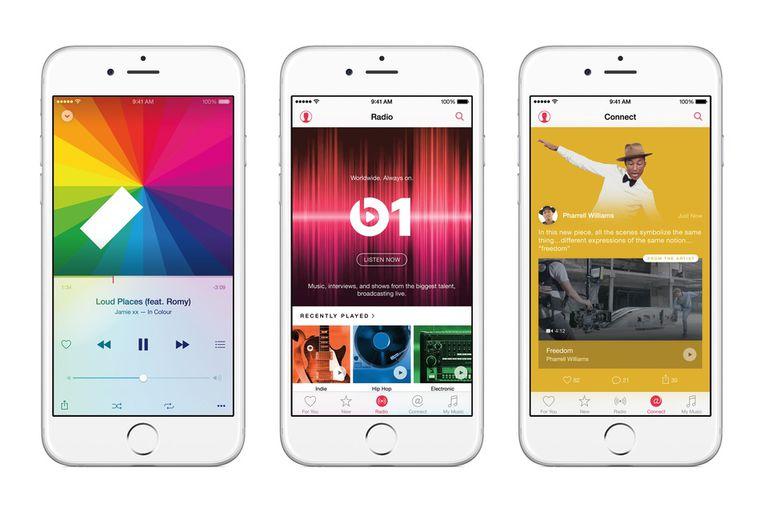 Apple Music tiene un precio de 4,99 dólares para la licencia individual, o 7,99 dólares para la familiar; hay que agregar un 35 por ciento de recargo por gasto en el exterior