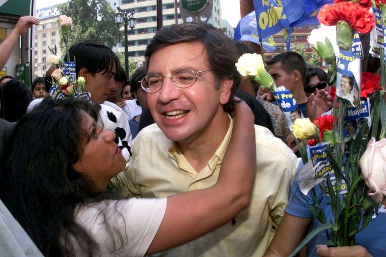 El líder centroderechista chileno, Joaquín Lavín
