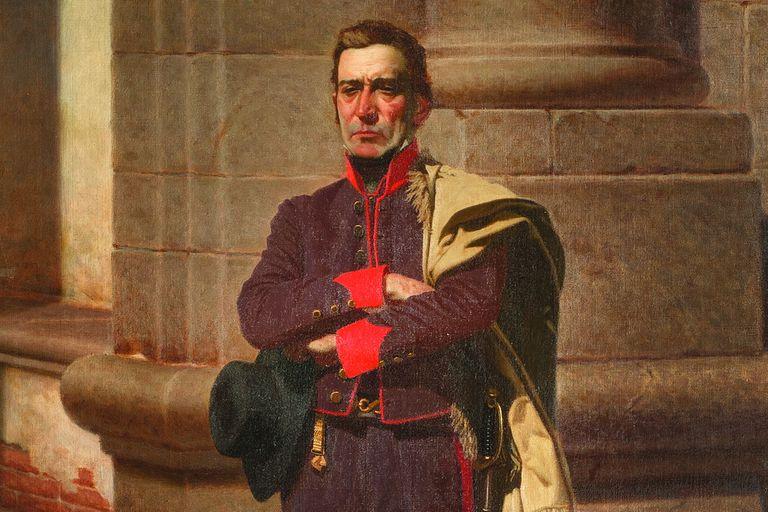 Artigas en la Ciudadela, óleo de Juan Manuel Blanes (1884)