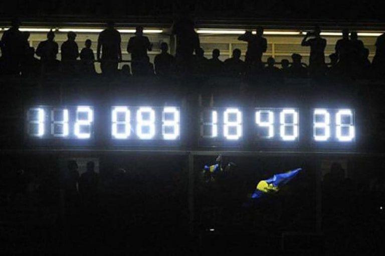 El reloj: un símbolo de la Bombonera de los últimos tiempos