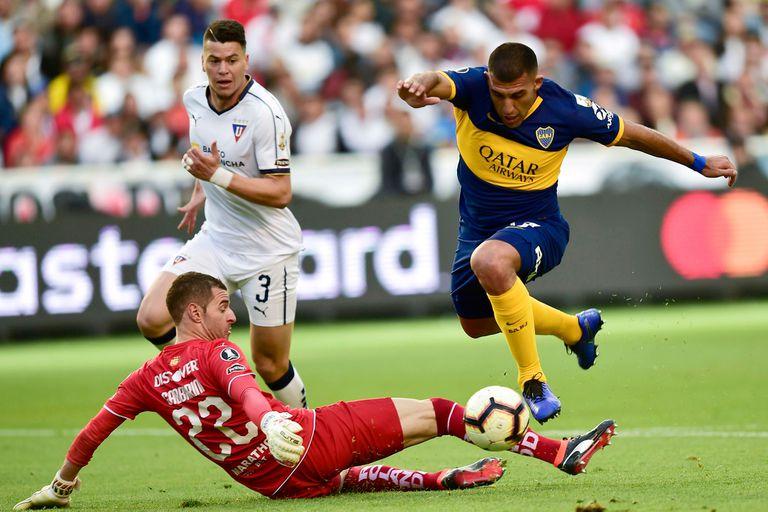 Copa Libertadores: el gol de Ábila y el fantástico tiro libre de Reynoso