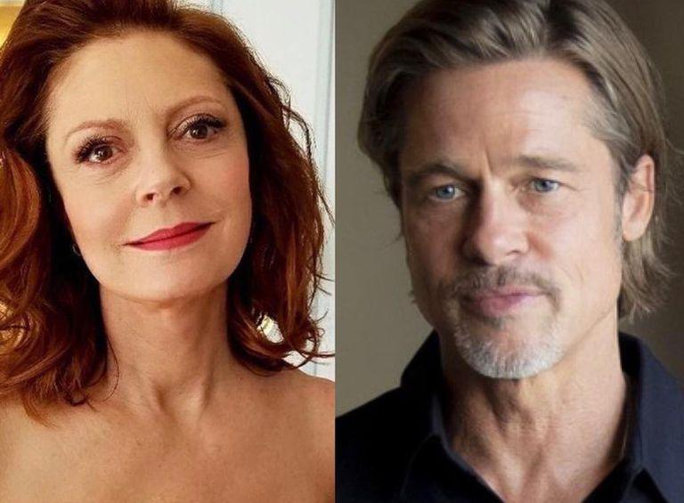 "Susan Sarandon, sobre Brad Pitt en Thelma & Louise: ""No solo una cara bonita"""