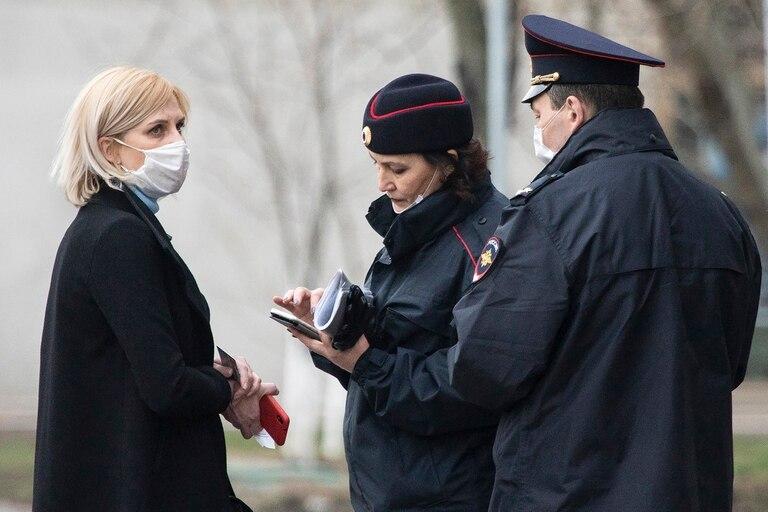 En Rusia durante el último día fueron 8863 los casos detectados y 182 las víctimas mortales