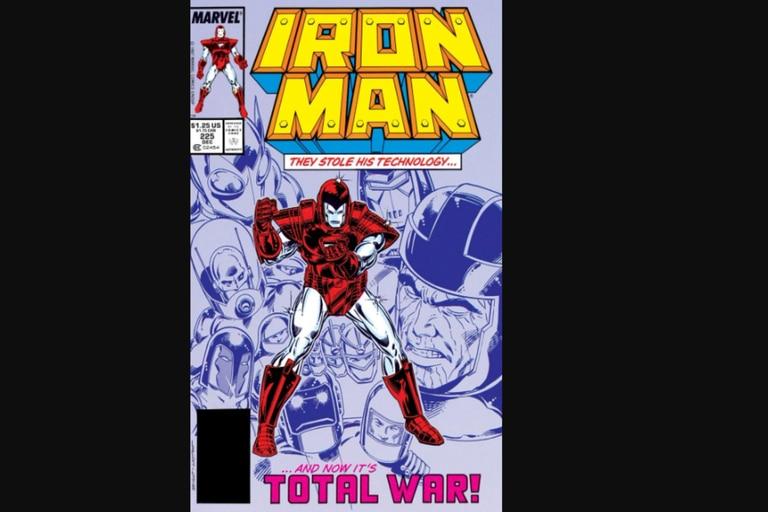 El cómic de Iron Man que sirve de base para Armor Wars