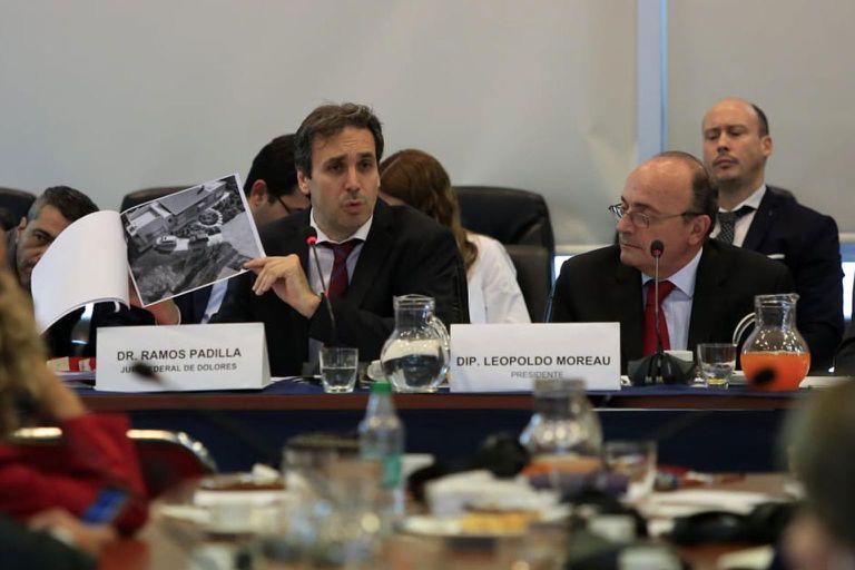 Ramos Padilla expuso ayer más de cinco horas en la comisión de Libertad de Expresión de Diputados