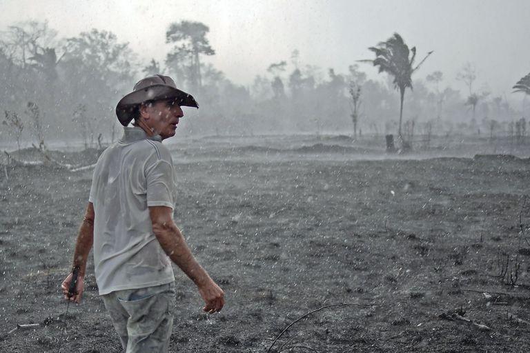"""Aurelio Andrade, el granjero del Amazonas que sostuvo que """"deforestamos para sobrevivir"""""""