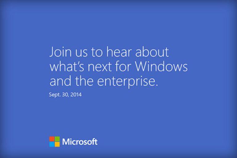 Así es la invitación que Microsoft está enviando a la prensa estadounidense