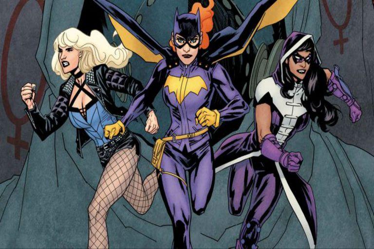 Birds of Prey en los cómics, con Batgirl en el centro