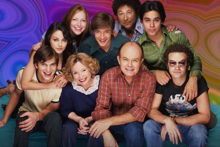 El elenco original de That 70s Show