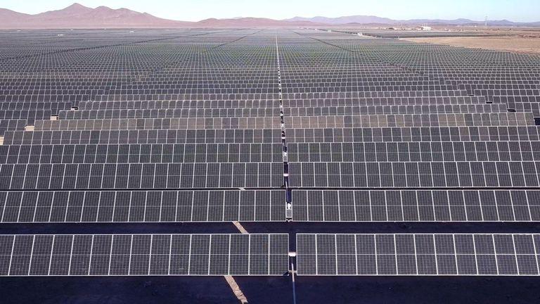 22-07-2021 Parque fotovoltaico de Acciona Energía en Chile ECONOMIA SUDAMÉRICA CHILE ACCIONA ENERGÍA