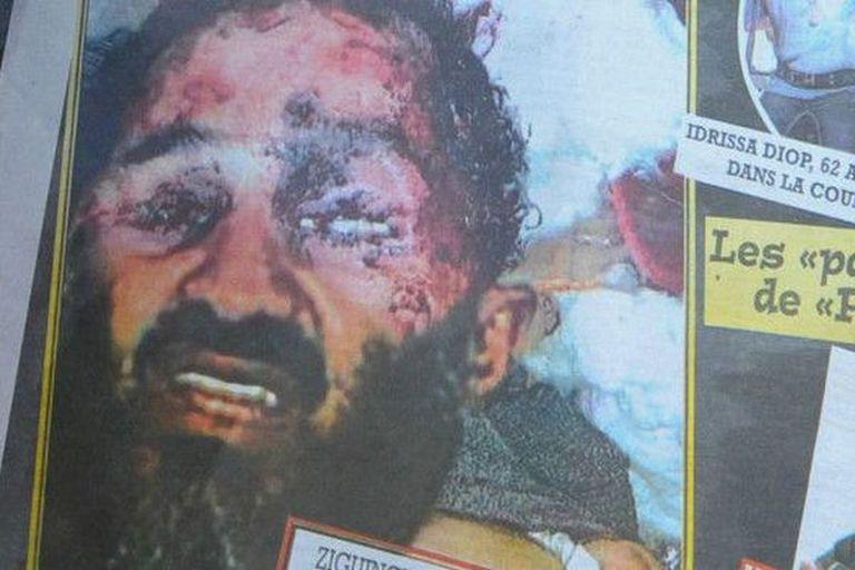 En 2011 esta foto falsa de la muerte de Bin Laden circuló por importantes medios. Gracias a Tin Eye podemos comprobar si una foto ya se publicó antes