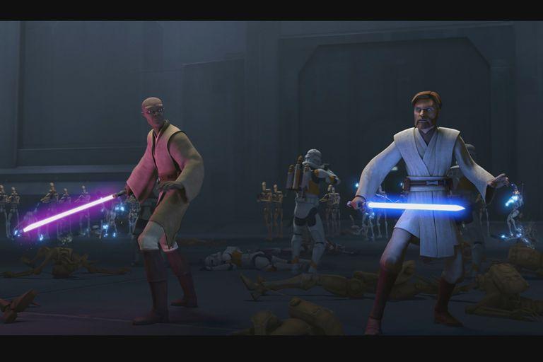 Star Wars: La guerra de los clones.
