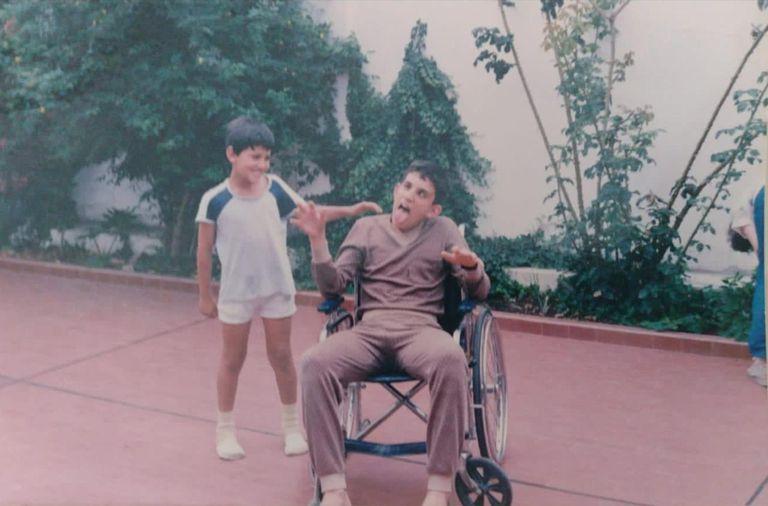 Fernando Arnedo pasó meses en silla de ruedas luego del accidente