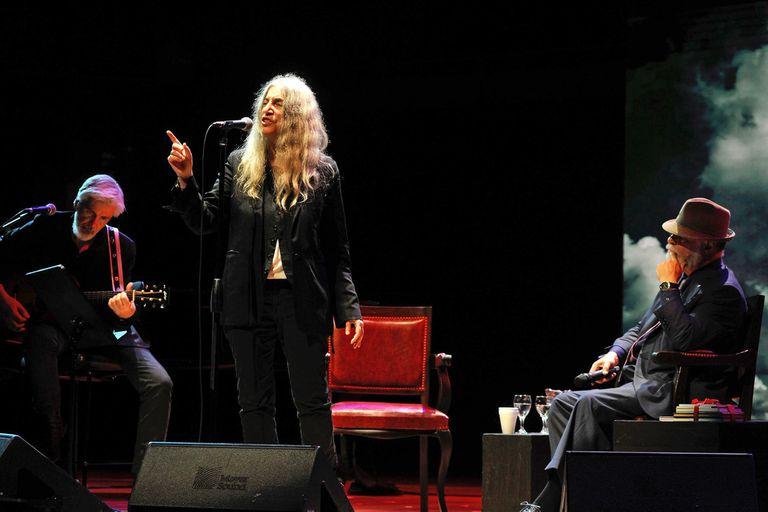 El late night show literario de Patti Smith, un ritual íntimo en el CCK