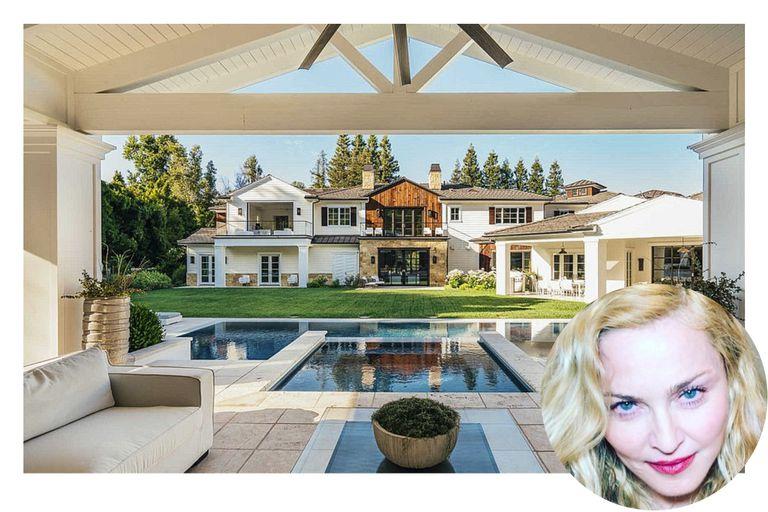 """La nueva mansión de Madonna: """"sala de autos de lujo"""" y precio regateado"""