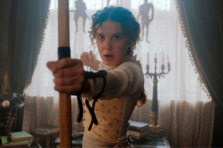 """Millie Bobby Brown protagoniza """"Enola Holmes"""", el film que el 23 de este mes estrenará Netflix"""