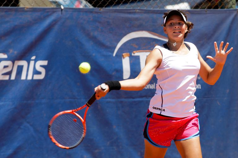 Carla Lucero, tenista cordobesa de 28 años