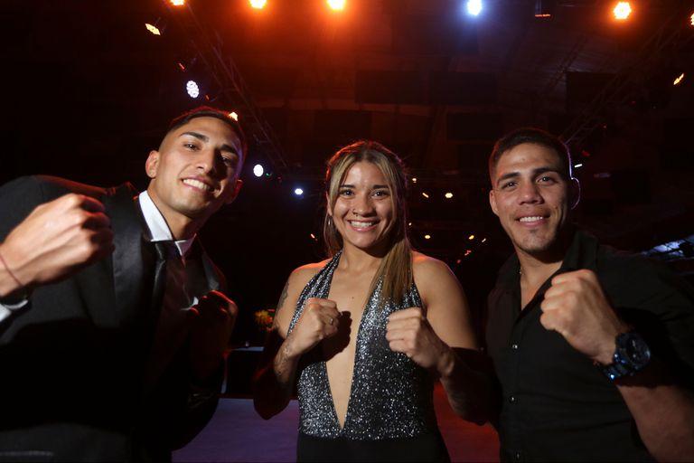 El triángulo que apuntala la ilusión del boxeo argentino