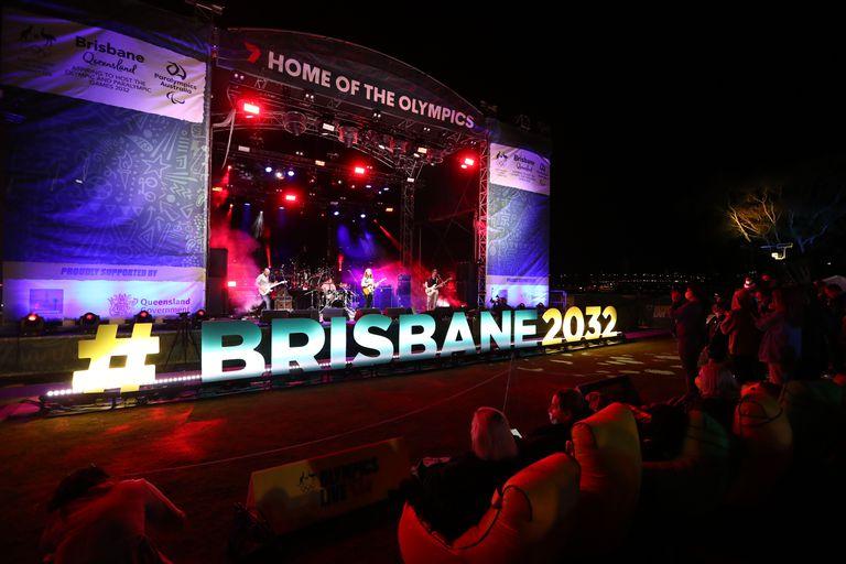 Escenas en Brisbane luego de que el COI anunciara a esa ciudad de Australia como escenario de los Juegos Olímpicos de 2032.
