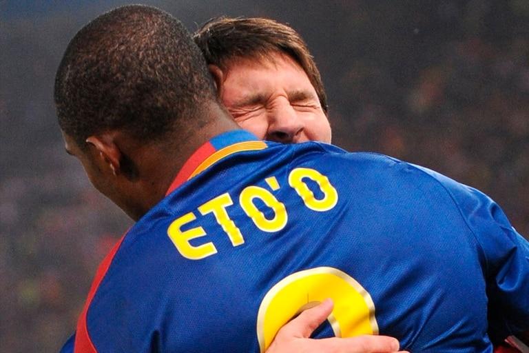 Junto a Messi, en la época dorada del Barcelona
