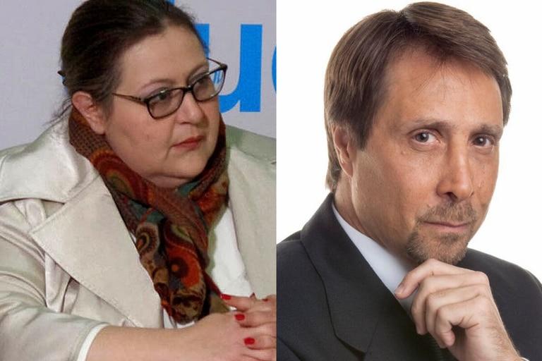 Eduardo Feinmann se cruzó con Graciana Peñafort