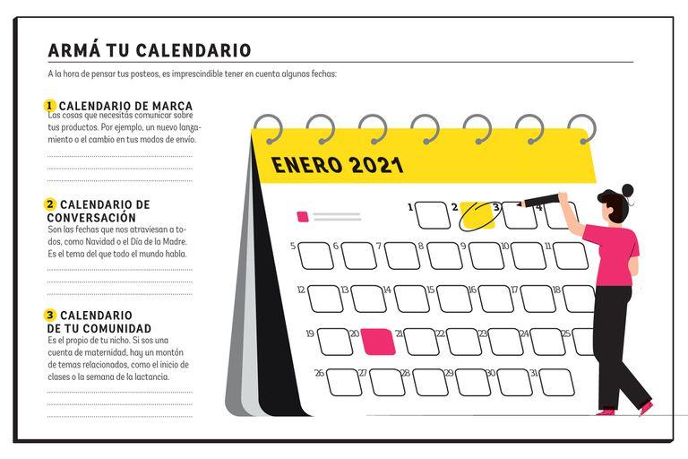 Calendario de contenidos. Qué tener en cuenta para planificar