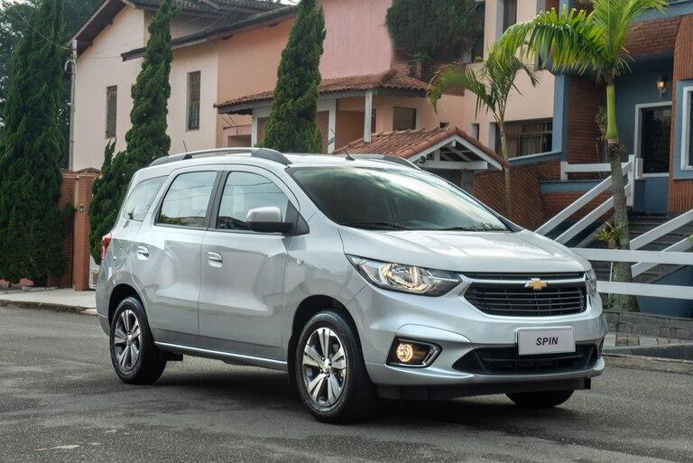 El Chevrolet Spin 2021