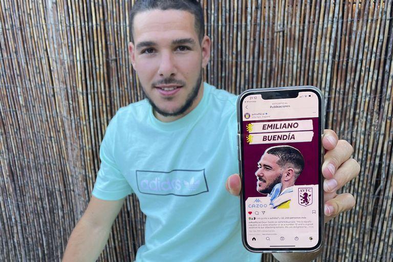 Emiliano Buendia pasó de Norwich a Aston Villa, de la Premier League inglesa en casi US$ 40 millones y es la transferencia más cara de un argentino en este mercado de pases.