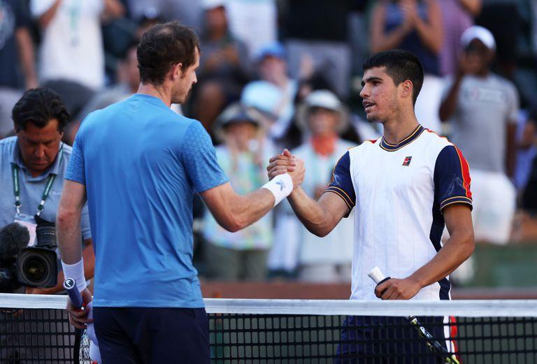 A los 34 años, Andy Murray derrotó a una gran promesa como el español Carlos Alcaraz.