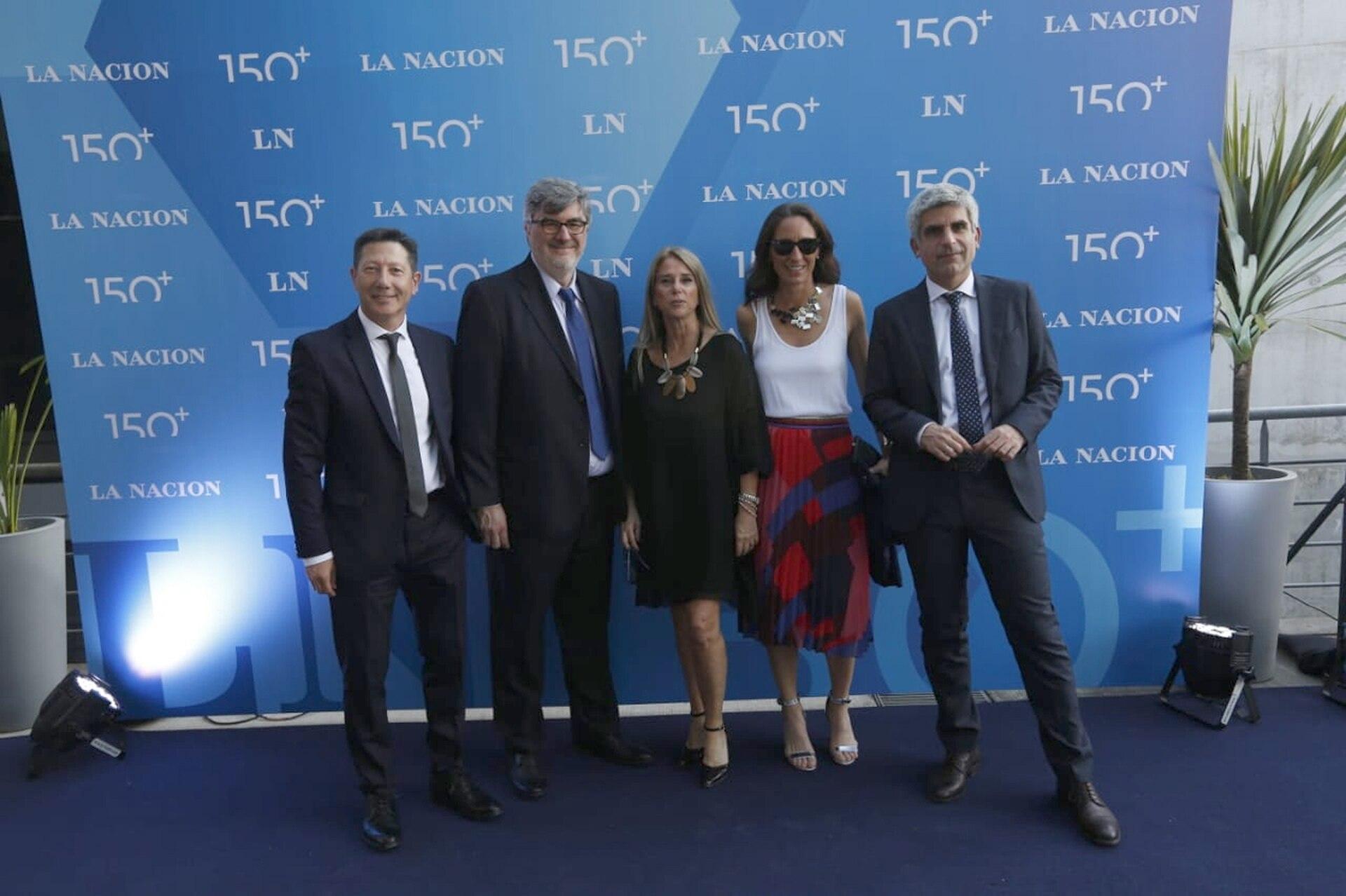 Jorge Rosales, Sergio Suppo, Gail Scriven, Inés Capdevila y Martín Rodríguez Yebra, Secretarios de Redacción de LA NACION