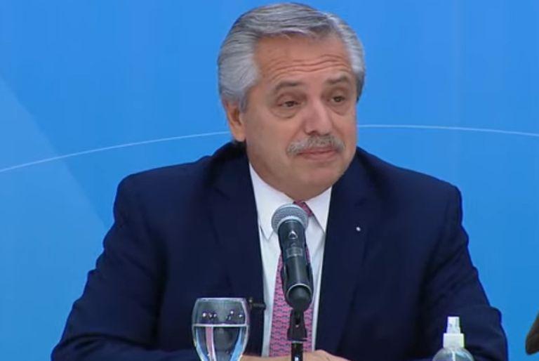 Fernández expuso en una cumbre de finanzas y dejó un mensaje al FMI