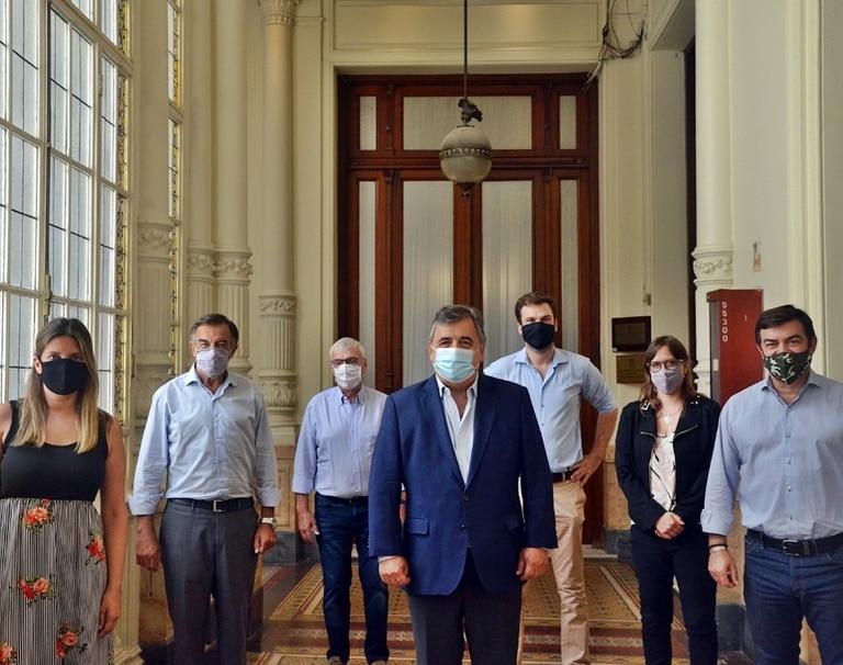 Los diputados del interbloque opositor, encabezados por Mario Negri, se reunieron esta mañana y recibieron testimonios sobre la situación en la provincia de Formosa
