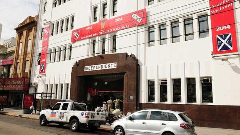 La sede de Independiente fue allanada