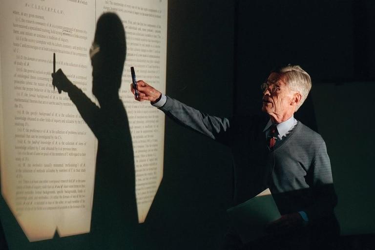 El filósofo enseñó en una universidad canadiense hasta los 90 años