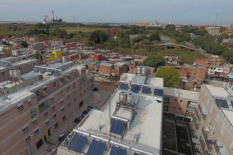 El plan de urbanización comenzó en 2016 cuando se anunció el proyecto y se censaron los habitantes del lugar