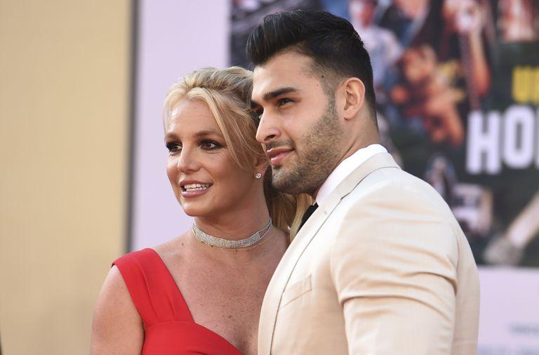Britney Spears y su prometido, Sam Asghari bromean con tener un hijo