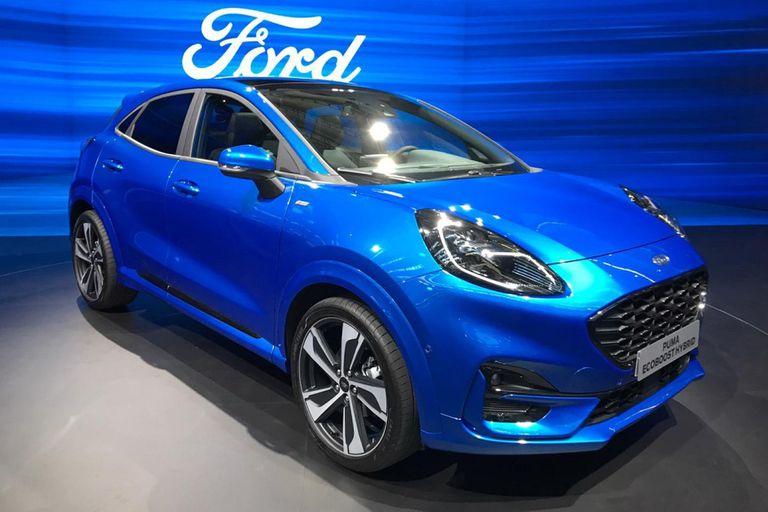 Ford Puma. Es la estrella del óvalo en Fráncfort; se trata de un B-SUV con motores mild-hybrid de 125 hasta 155 HP