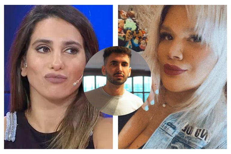 Cinthia Fernández y Morena Rial denunciaron a un youtuber por insultarlas en un fuerte video