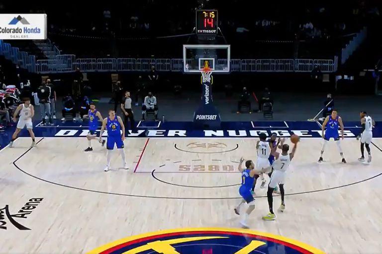 Facundo Campazzo sobre Kevin Durant: el comienzo de una acción defensiva que deslumbra en la NBA