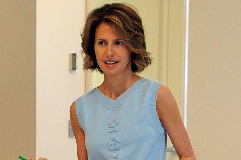Asma al-Assad, el rostro más humano del régimen sirio, tiene cáncer de mama