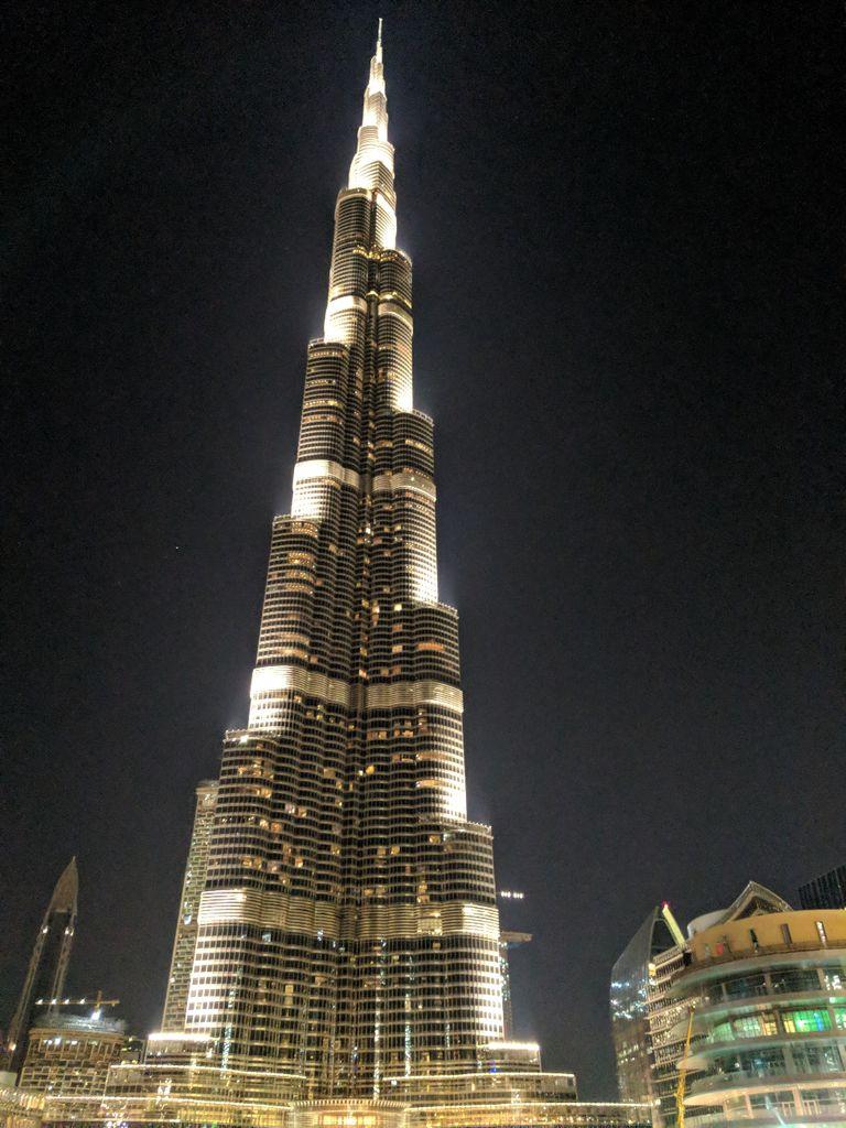 El Burj Khalifa, el edificio más alto del mundo.