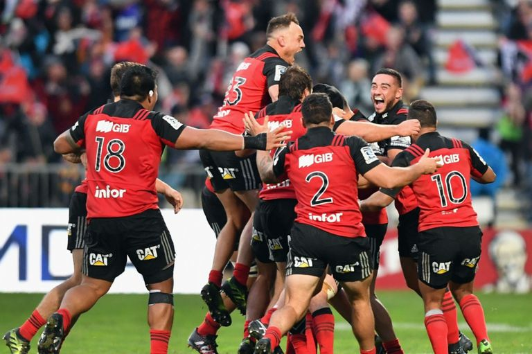 Crusaders, campeón del Super Rugby 2018
