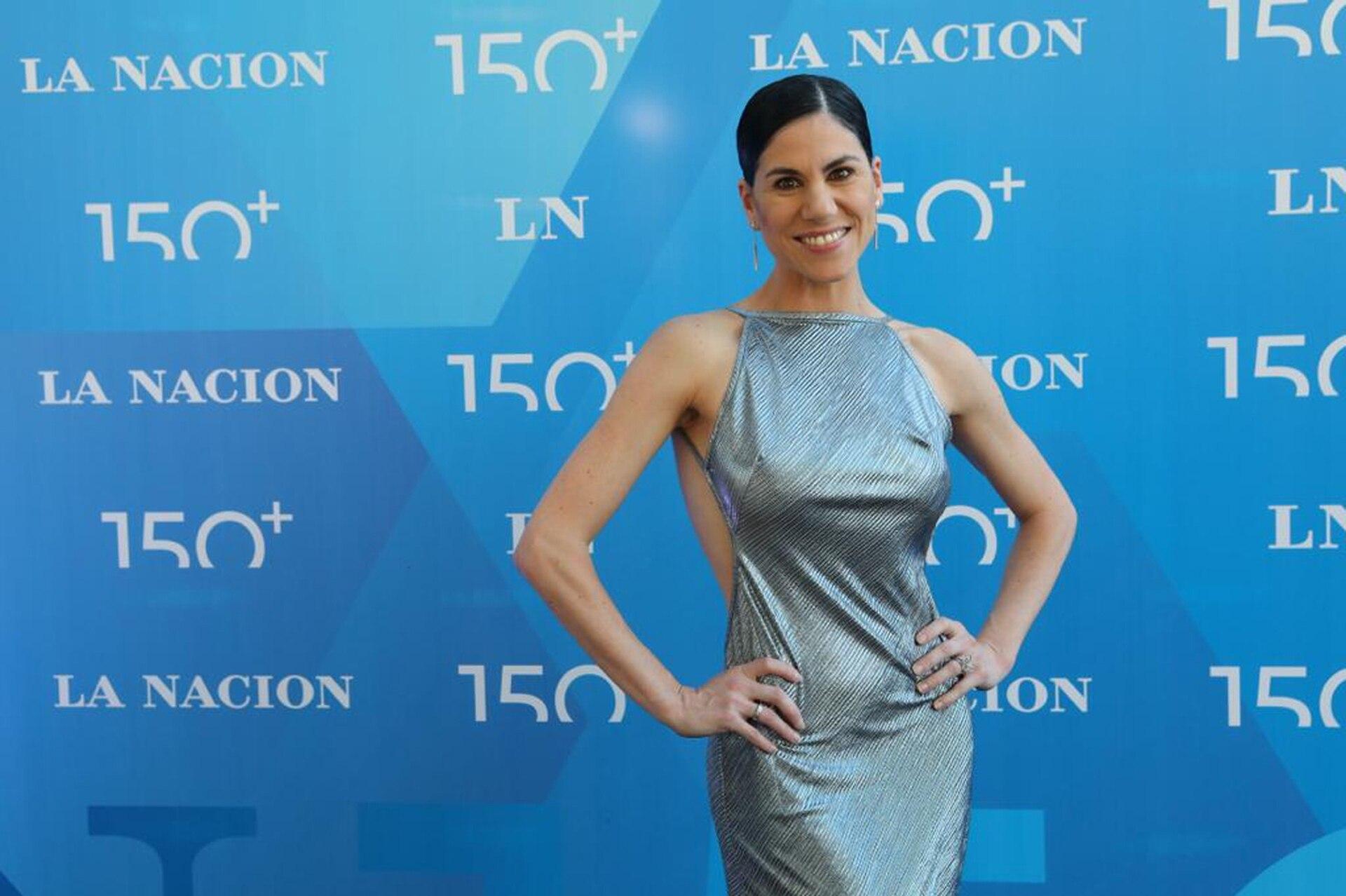 La directora del Ballet Estable del Teatro Colon, Paloma Herrera, en la blue carpet